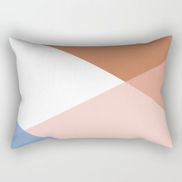 Geometrics - moroccan sky Rectangular Pillow