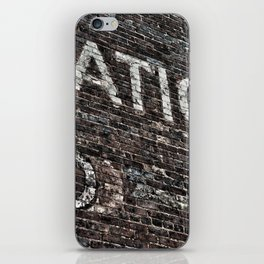 Asheville Coke Series No. 4 iPhone Skin