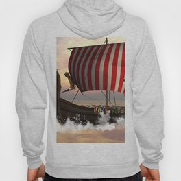 The  viking longship Hoody