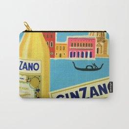 1955 Cinzano Blanc Venice Aperitif Italian Advertisement Poster Carry-All Pouch