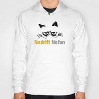 audi Hoodies featuring No drift No fun v1 HQvector by Vehicle