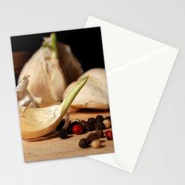 Garlic & Peppercorns Stationery Cards