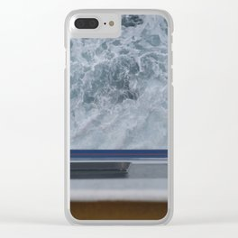 Naxosferry 1 Clear iPhone Case