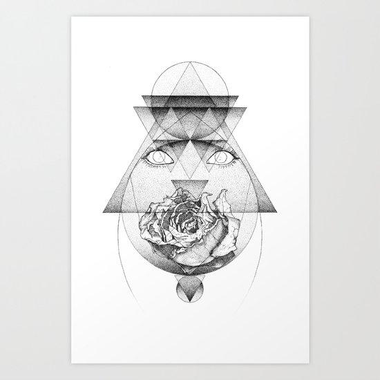 Lupine Rosaceae Art Print