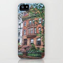 Ft. Greene Brooklyn Historic Brownstone iPhone Case