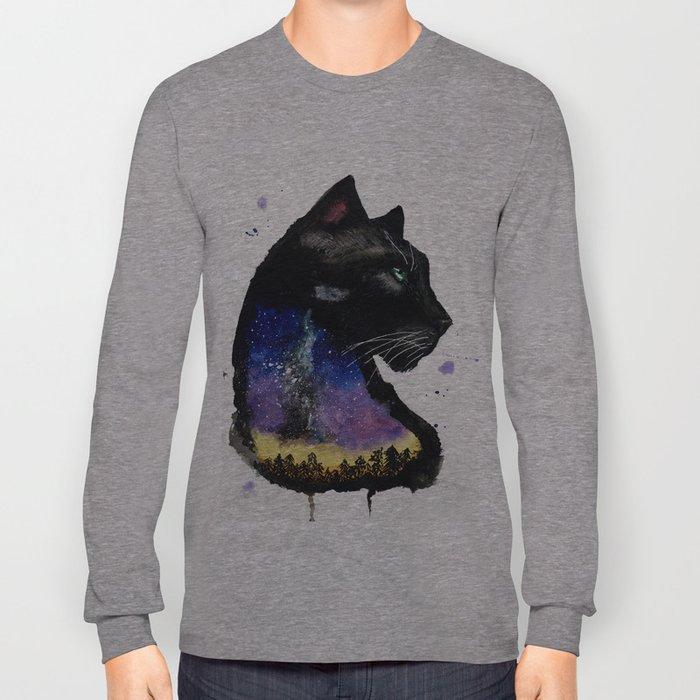 Galaxy Panther Long Sleeve T-shirt