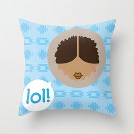 INUIT Throw Pillow