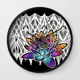 Lotus- Catalyst Gardens Wall Clock