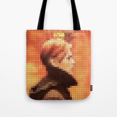 Bowie : Low Pixel Album Cover Tote Bag