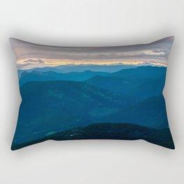 Bluenose Mountain  Rectangular Pillow