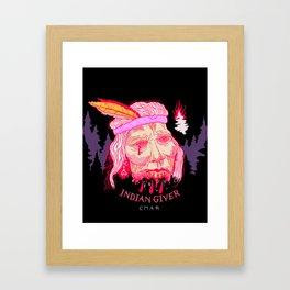 Proud Heritage (Indian Giver) Framed Art Print