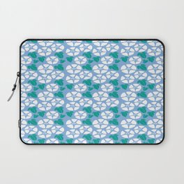 Japanese Flower of Life Blossom Seamless Pattern Symbols Laptop Sleeve