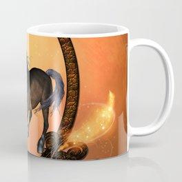 Horse in a frame Coffee Mug