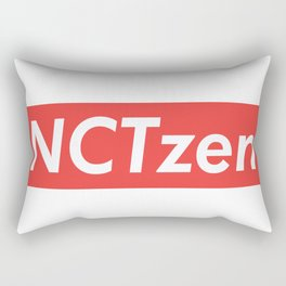 NCT NCTzen red Rectangular Pillow