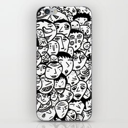 Friendly Faces  iPhone Skin