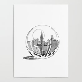 New York Print. Home Decor Graphicdesign Poster