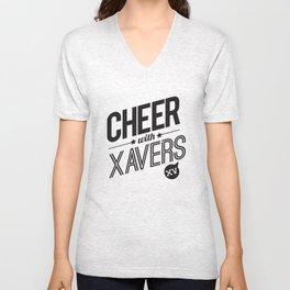 XV Cheerleading Unisex V-Neck