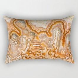 Crazy Lace Agate 2 Rectangular Pillow