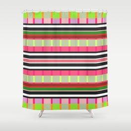 Stripe 6 Shower Curtain