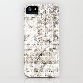Ink Stitch: Cream Howlite iPhone Case