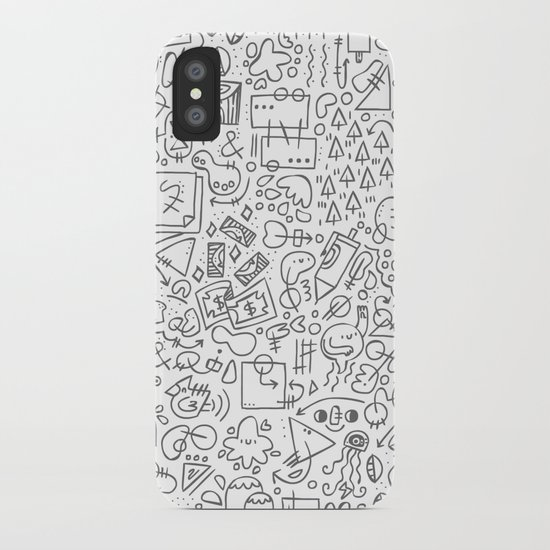 Doodle Do iPhone Case