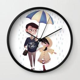 Please Don't Stop The Rain Wall Clock