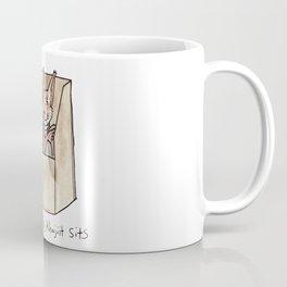 if Khajiit fits, Khajiit sits Coffee Mug