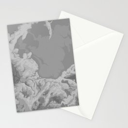 SPARSE CLOUDS Stationery Cards