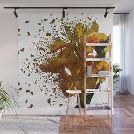 Iris Explosion Wall Mural