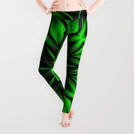 Mandala Green 6 Leggings