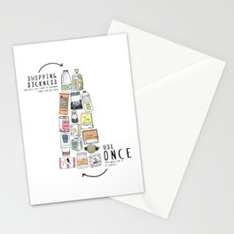 Shopping Essentials Stationery Cards