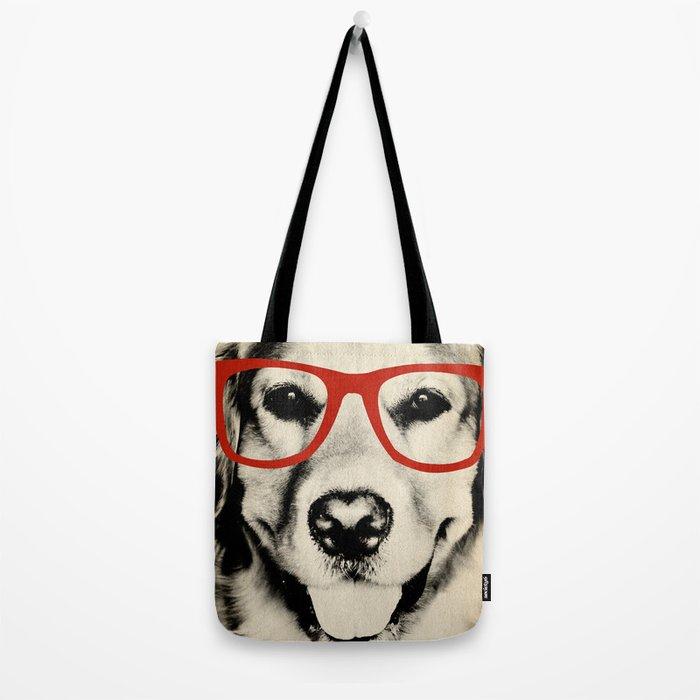 NERDY DOG Tote Bag