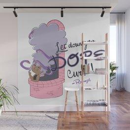 Rapunzel's Dope Curls Wall Mural