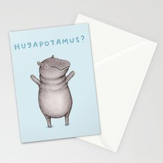 Hugapotamus? Stationery Cards