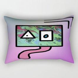 Gooey Digital Rectangular Pillow