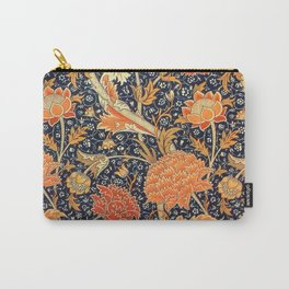 William Morris Cray Floral Art Nouveau Pattern Carry-All Pouch