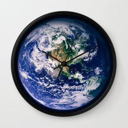 Marble 3 Wall Clock