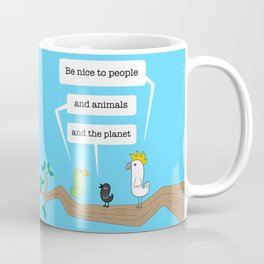 Birds of Wisdom #1 Coffee Mug
