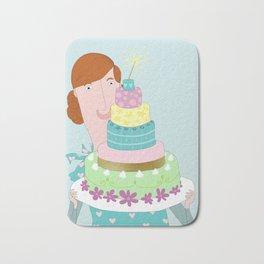 My happycake Bath Mat