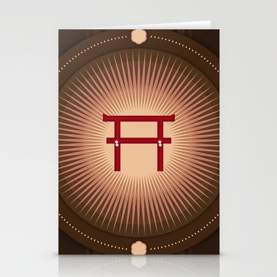 Torii no power Stationery Cards
