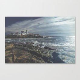 Nubble Light York Maine Canvas Print