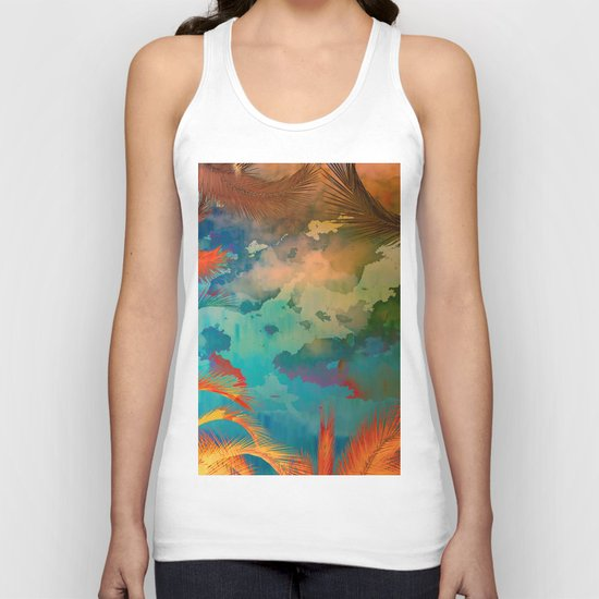 A place for lying down and look up / Botanic 24-09-16 Unisex Tank Top