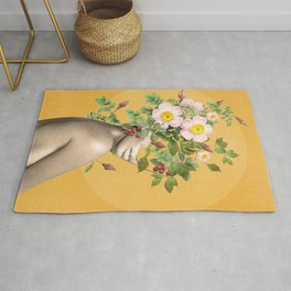 Floral beauty 12 Rug