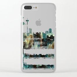 We Don't Care.  Forget It. Clear iPhone Case