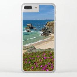 Porto Covo in Spring, Portugal Clear iPhone Case