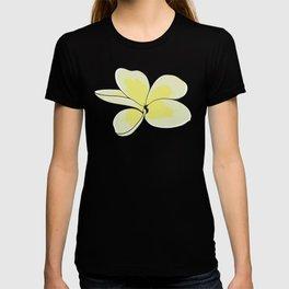Frangipani Plumeria Flower T-shirt