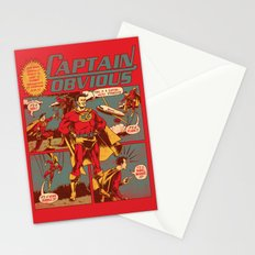 Captain Obvious! Stationery Cards