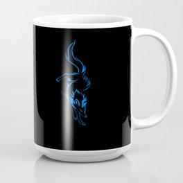 The Blue Wolf Coffee Mug