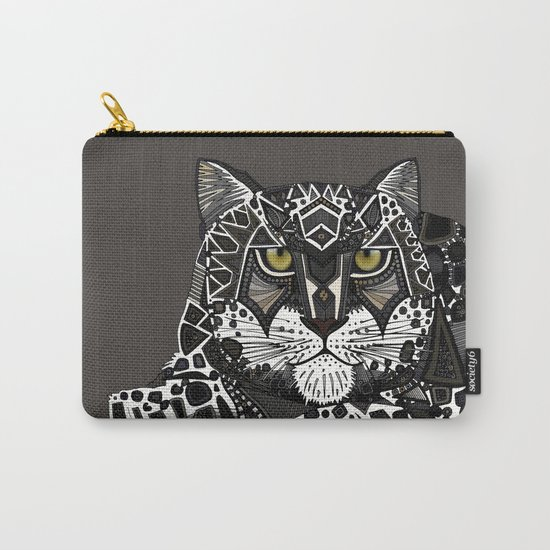 snow leopard lead Carry-All Pouch