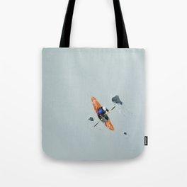 Solitude- Kayaker Tote Bag